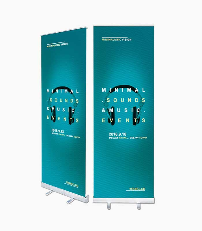 AMS 36″ Retractable-Banner Stand Image