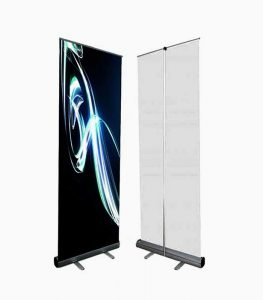 AMS 48″ Retractable Banner Stand Image