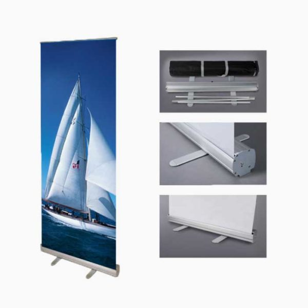 AMS Econo Retractable Banner Stand Image