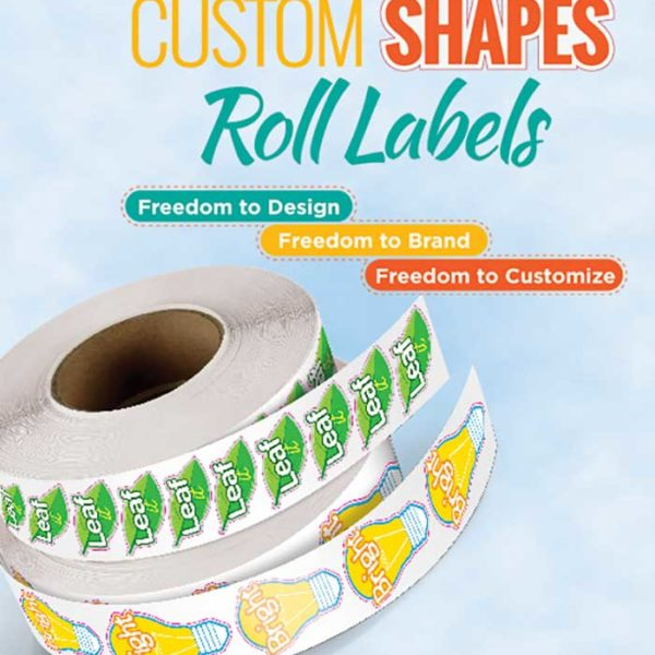 Oval Roll Labels