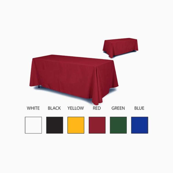 Solid Color Table Throw