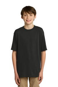 JERZEES Youth Sport 100% Polyester T-Shirt. 21B