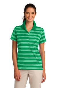 DISCONTINUED Nike Golf Ladies Dri-FIT Tech Stripe Polo. 578678