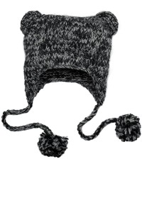 District - Hand Knit Cat-Eared Beanie. DT626