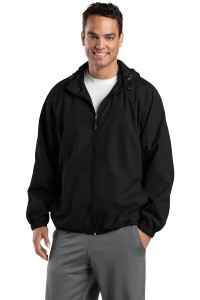 Sport-Tek Tall Hooded Raglan Jacket. TJST73