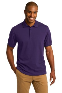 Port Authority Rapid Dry Tipped Polo. K454
