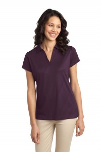 Port Authority Ladies Tech Embossed Polo. L548