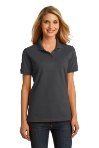 Port & Company Ladies Ring Spun Pique Polo. LKP150
