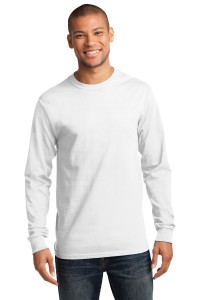 Port & Company - Tall Long Sleeve Essential T-Shirt. PC61LST