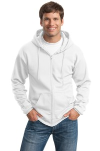 Port & Company Tall Ultimate Full-Zip Hooded Sweatshirt. PC90ZHT