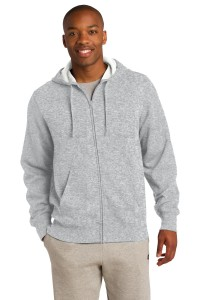 Sport-Tek Tall Full-Zip Hooded Sweatshirt. TST258