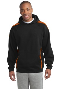 Sport-Tek Tall Sleeve Stripe Pullover Hooded Sweatshirt. TST265
