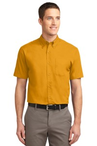 Port Authority Tall Short Sleeve Easy Care Shirt. TLS508