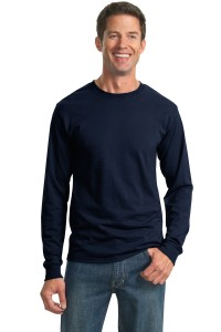 JERZEES® - Heavyweight Blend™ 50/50 Cotton/Poly Long Sleeve T-Shirt.  29LS
