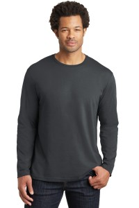 District Made® Mens Perfect Weight® Long Sleeve Tee. DT105