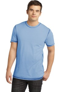 DISCONTINUED District® - Young Mens Faded Crew Tee. DT1200