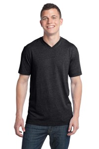 District® - Young Mens Tri-Blend V-Neck Tee DT142V