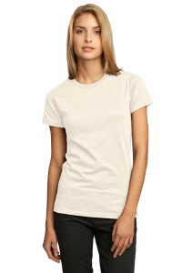 CLOSEOUT District® - Juniors 100% Organic Cotton Perfect Weight™ Tee.  DT200ORG