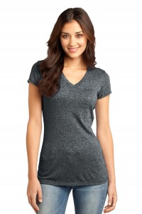 District® - Juniors Microburn® V-Neck Tee. DT261