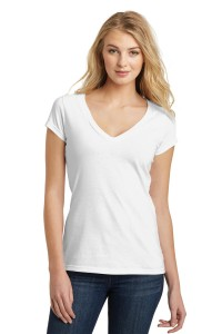 District® Juniors Very Important Tee® Deep V-Neck. DT6502