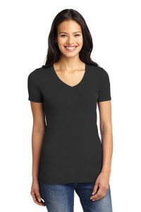 Port Authority® Ladies Concept Stretch V-Neck Tee. LM1005