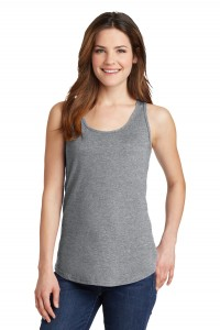 Port & Company® Ladies 5.4-Oz 100% Cotton Tank Top.  LPC54TT