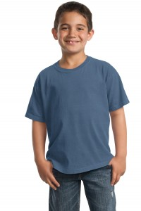CLOSEOUT Port & Company® - Youth Essential Pigment-Dyed Tee. PC099Y