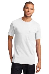 Port & Company® - Tall Essential T-Shirt with Pocket. PC61PT