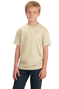 CLOSEOUT Port & Company® - Youth Essential T-Shirt. PC61YCO