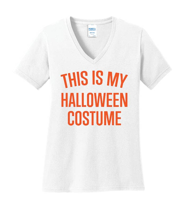LPC54V - This Is My Costume - White