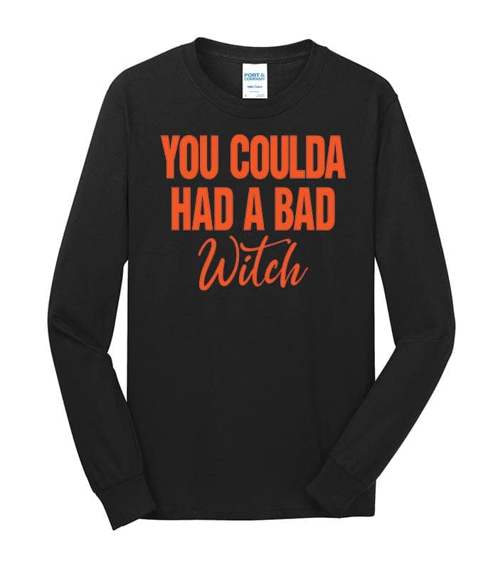 PC54LS - Coulda Had A Bad Witch - Black