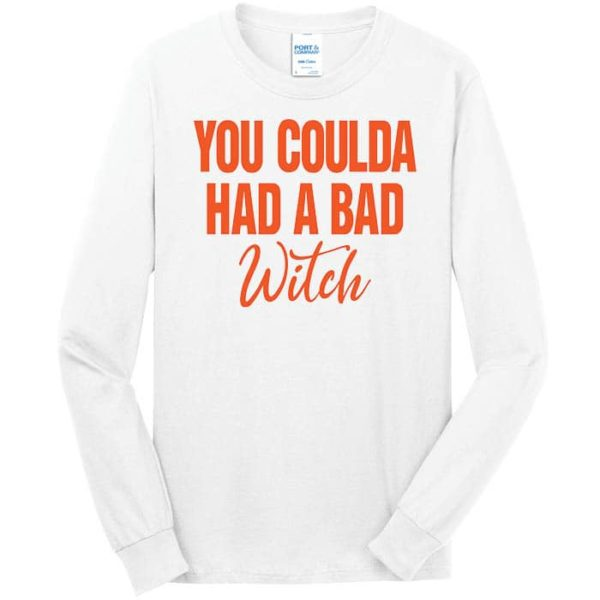 PC54LS - Coulda Had A Bad Witch - White
