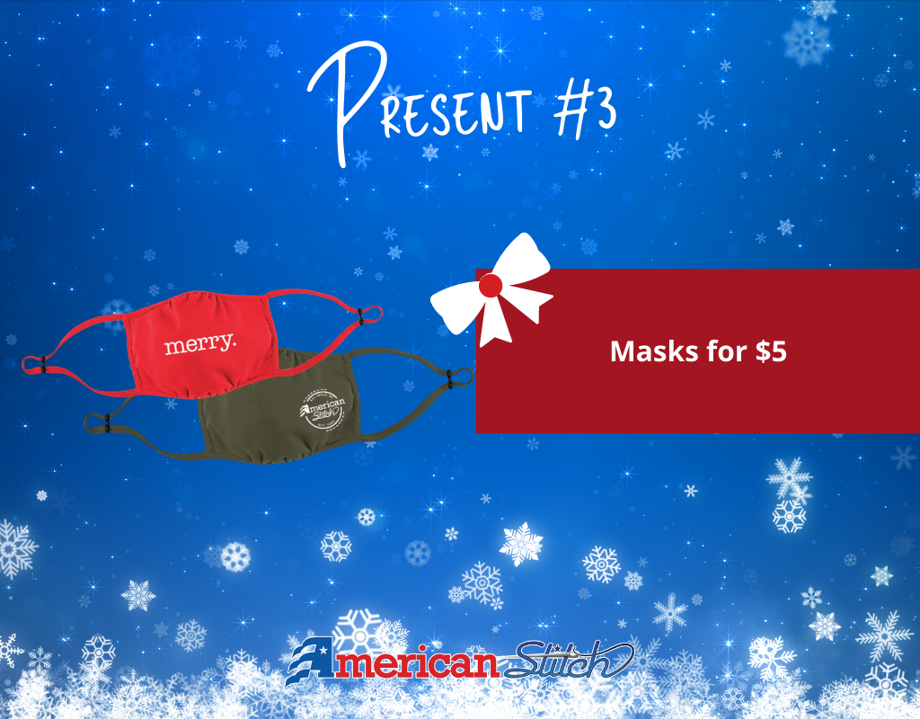 Deals on Discounted Masks at American Stitch